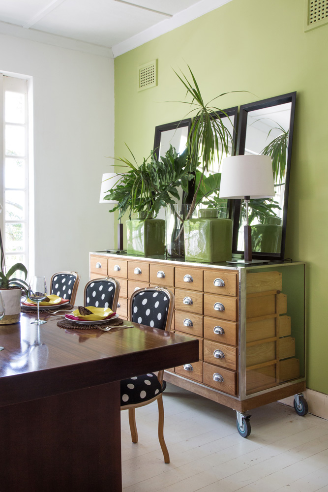 summer colour trends - green