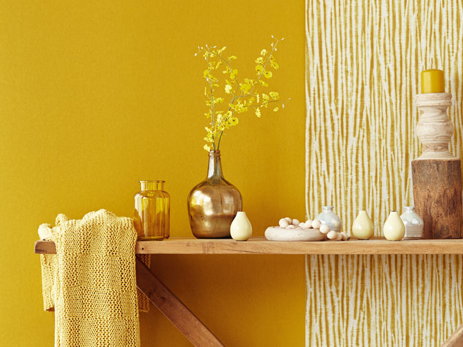 colour trends - mustard yellow