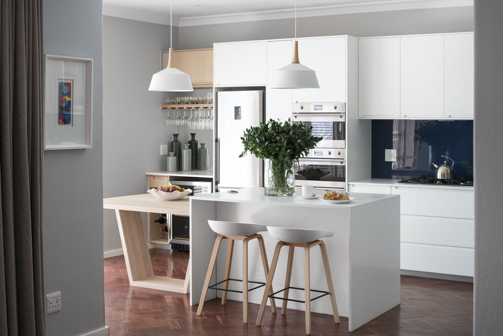 whitekitchenaprilissue - SA Garden and Home favourite rooms 2018