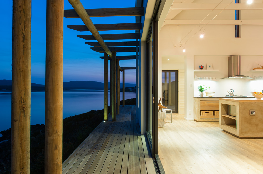 coastal home - architect's plan