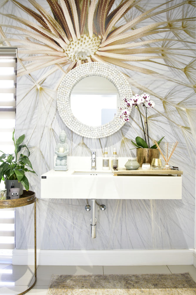 Motife interiors powder room - SA Garden and Home favourite rooms 2018
