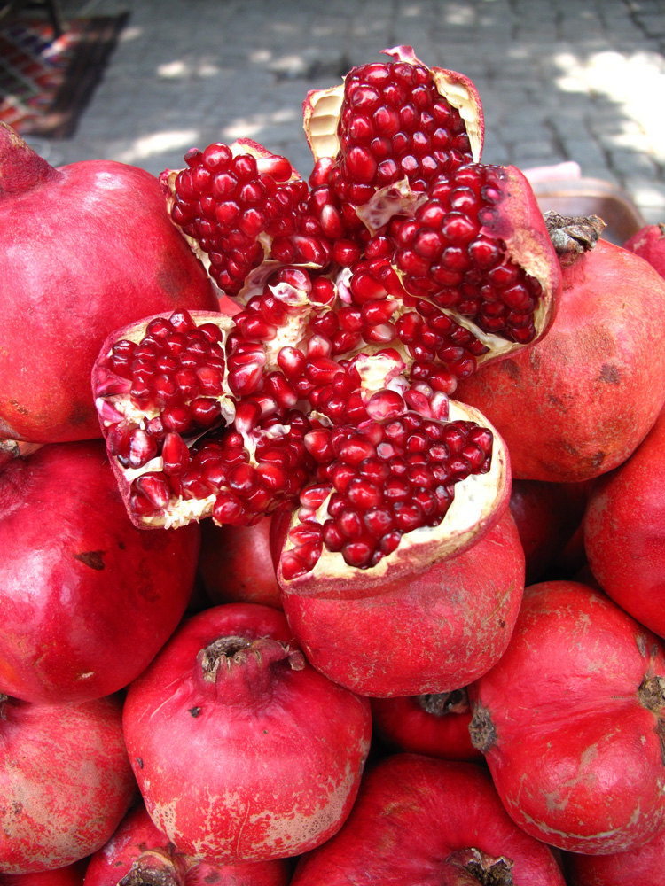 Pomegranate - making granitas - SA Garden and Home