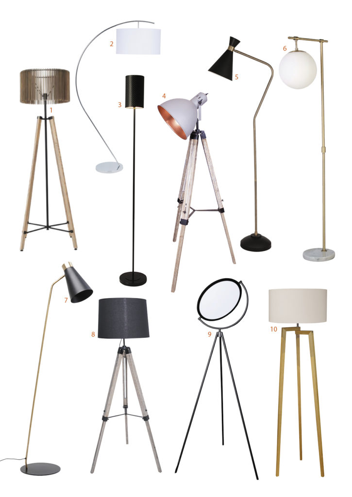floor lamp shopping page