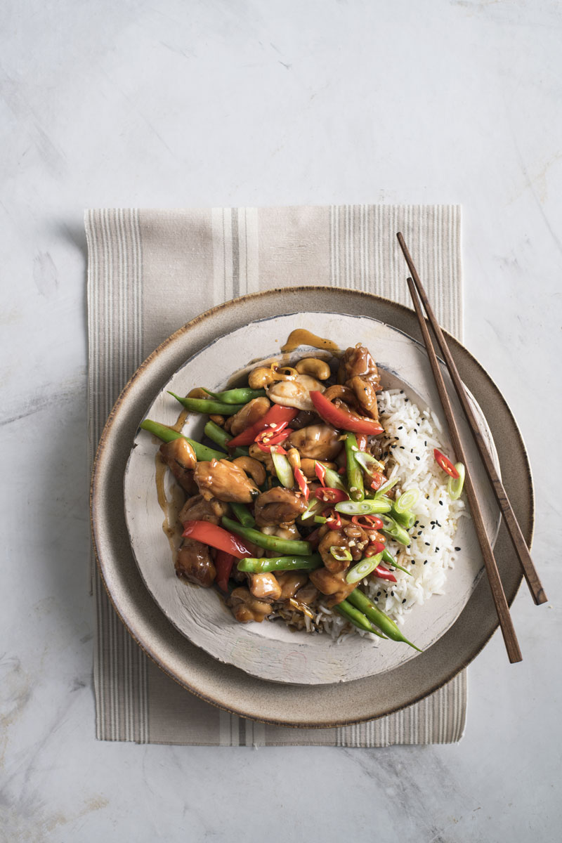 Lemongrass Chicken And Cashew Stir Fry Sa Garden And Home